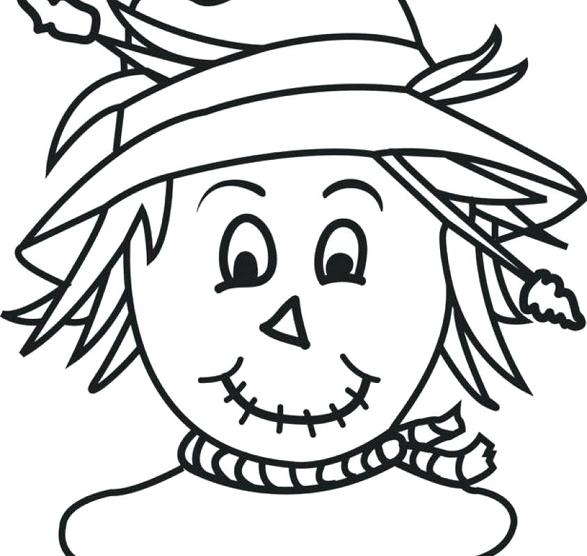 free thanksgiving coloring pages to print mandala amp scarecrow - 844×800