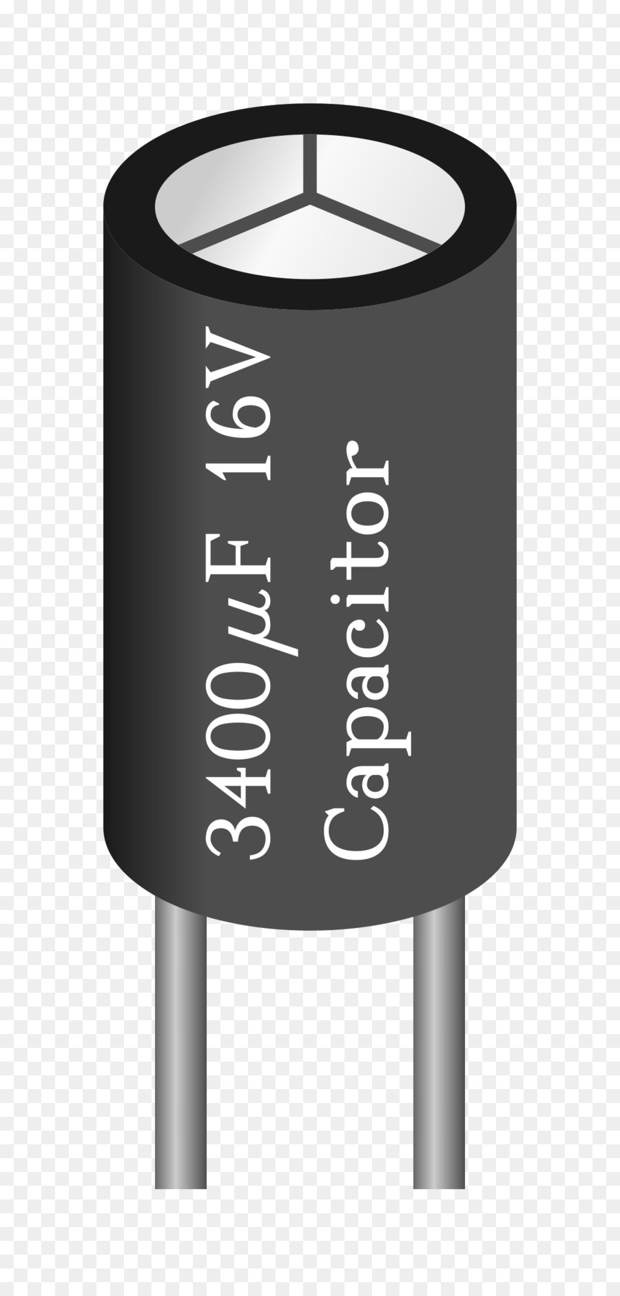 capacitor png clipart Electrolytic capacitor Clip art
