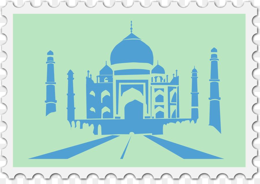 black and white images of taj mahal clipart Black Taj Mahal Monument