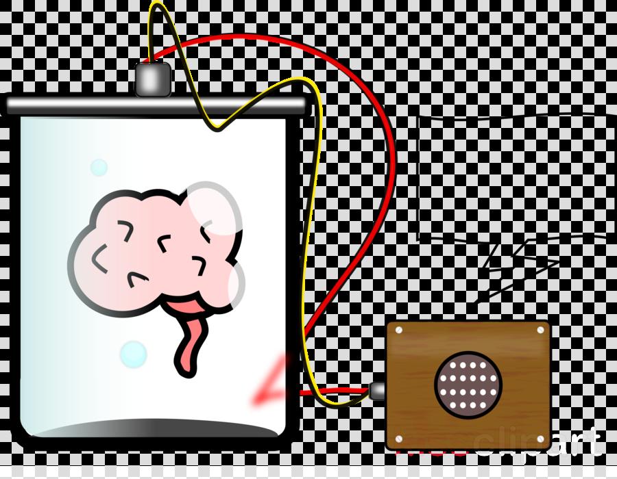 brain in a jar cartoon clipart Brain Clip art