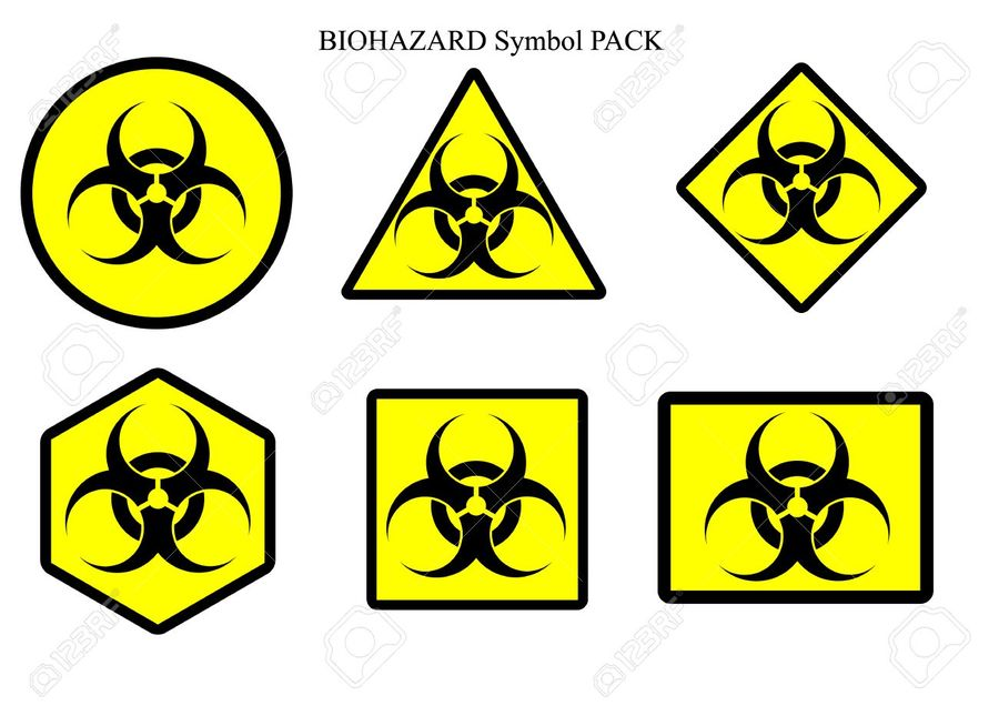 Clipart Resolution 1300918 Biohazard Symbol Clipart Biological