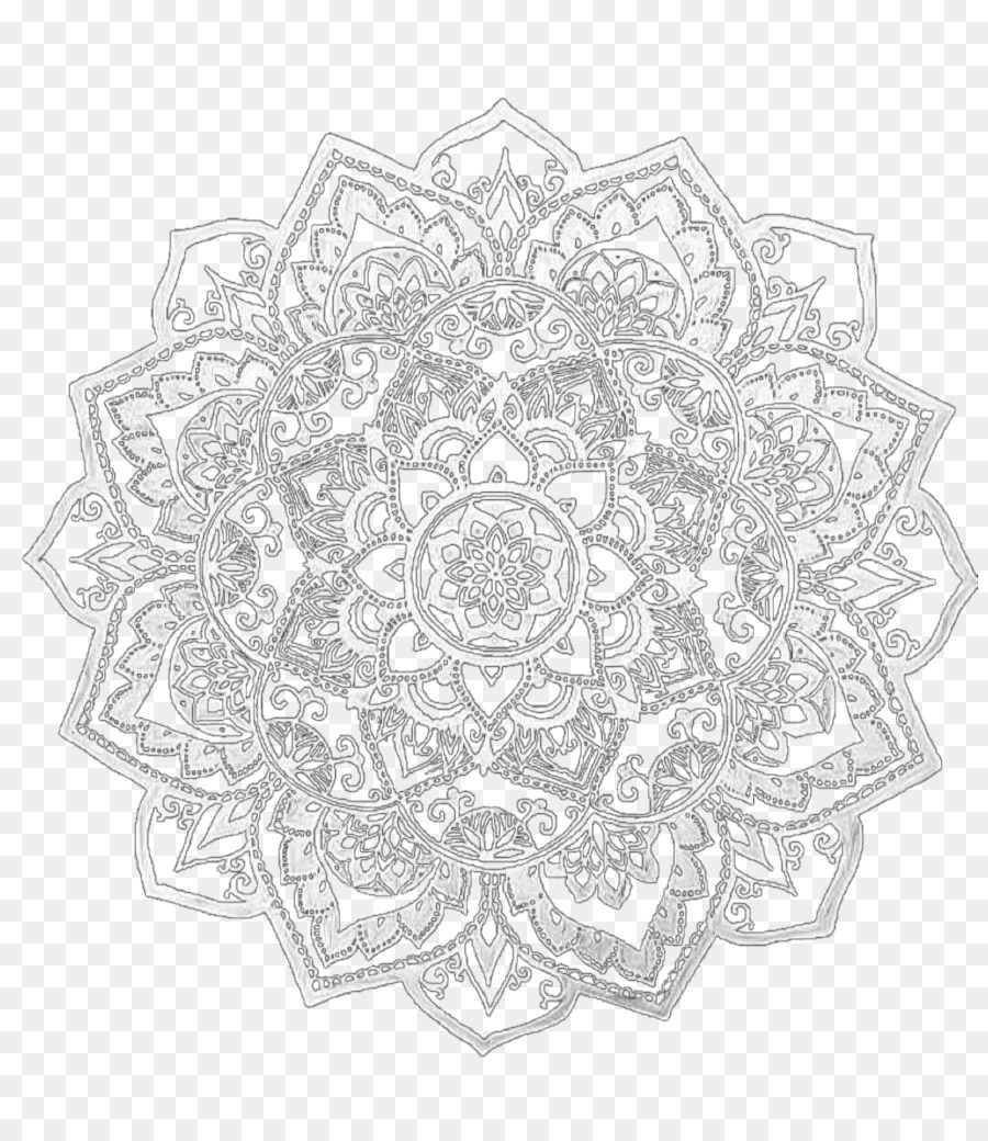 Circle Background Clipart Video Mandala Pattern Transparent