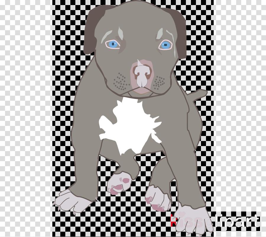 Puppy clipart American Pit Bull Terrier Puppy Bulldog