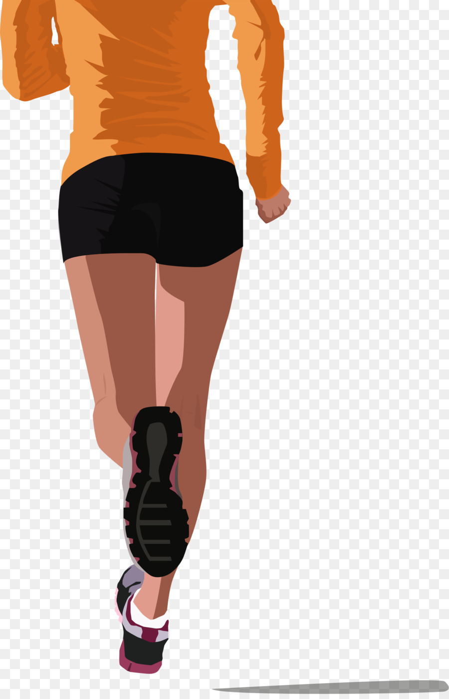 Running clipart Long-distance running Jogging