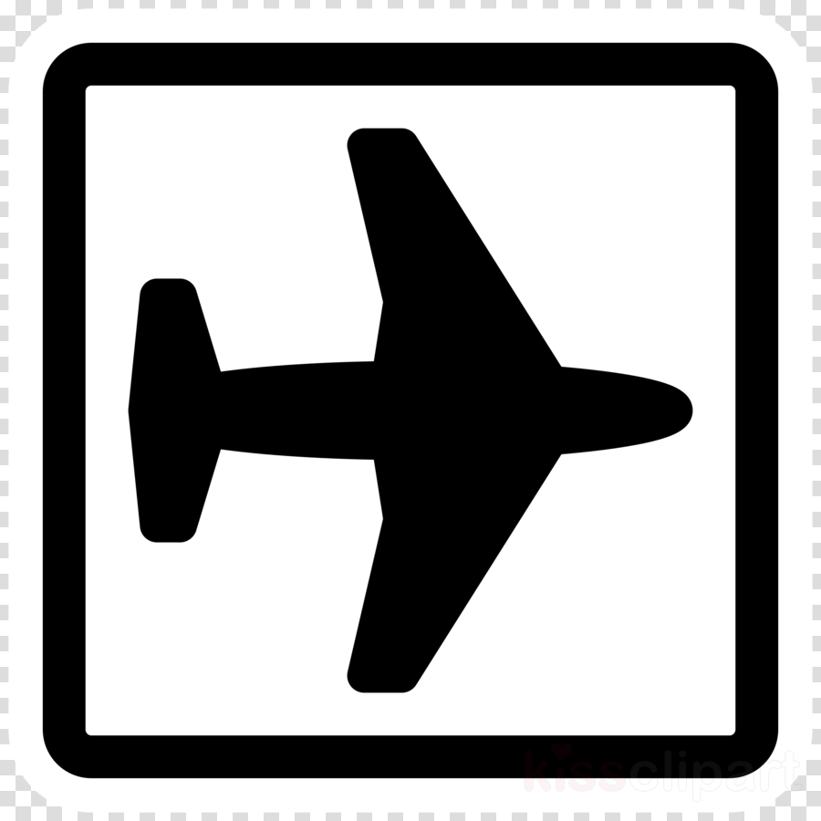 Airplane Clipart Silhouette Best Free Library