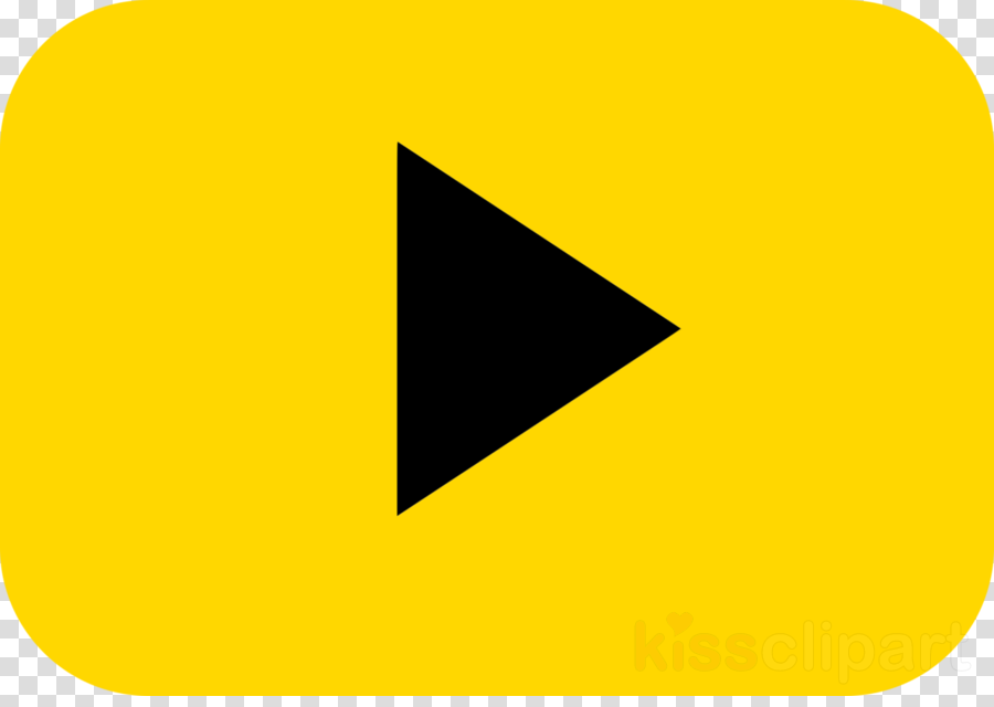 yellow png play button clipart YouTube Play Button Clip art