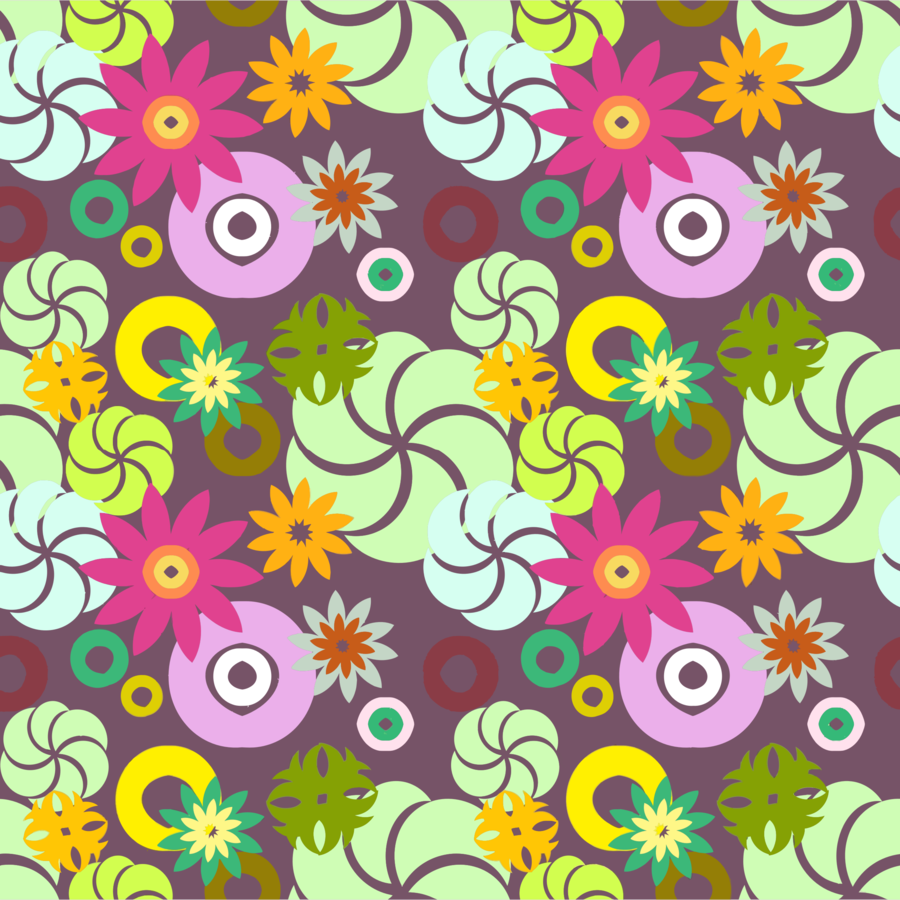 Floral Pattern Background Clipart Pattern Flower Design