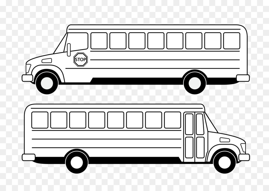 Buses Coloring Pages Clipart School Bus Safety Colouring