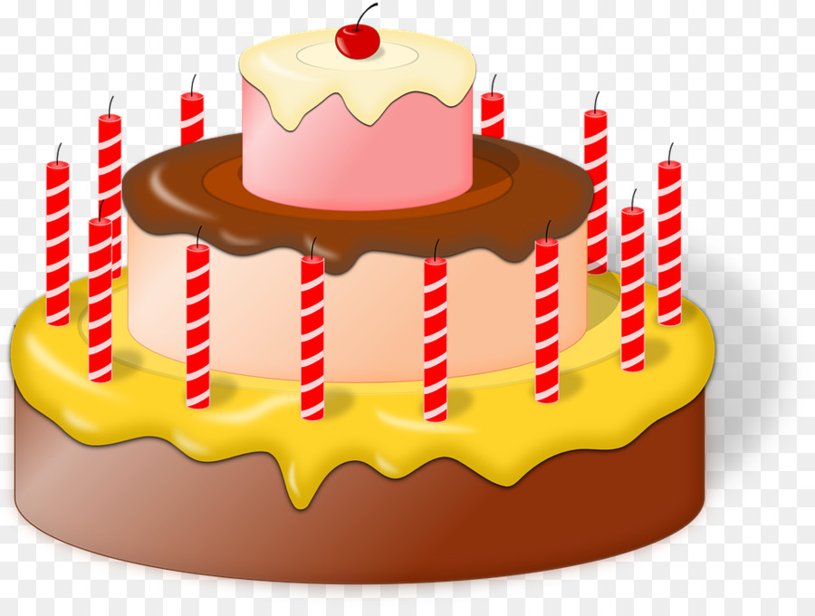 Birthday Cake Dessert Transparent Png Image Clipart Free Download