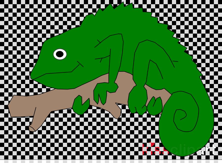 Chameleons clipart Chameleons Reptile Clip art