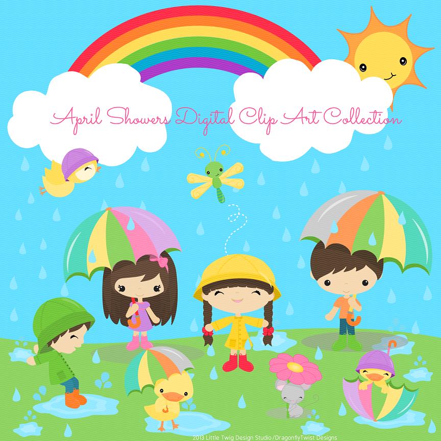 Shower Cartoon