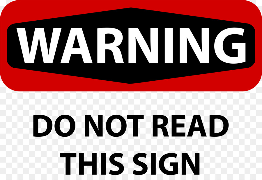 Warning Sign clipart - Text, Font, Label, transparent clip art