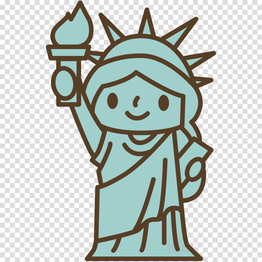 Download La Estatua De La Libertad Para Colorear Clipart Statue Of