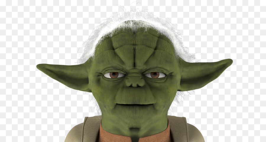 Character clipart Yoda Low poly Character