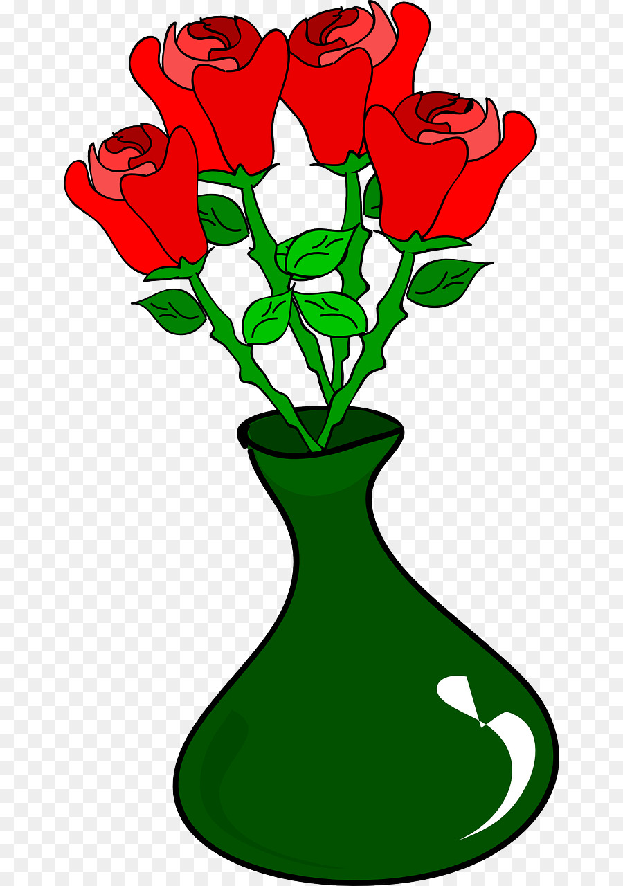 268 : flowers in vase clip art - startupinsights.org