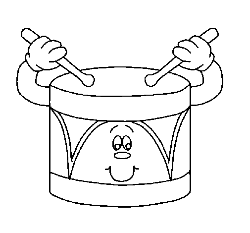 Book Black And White Clipart Drum Drawing White Transparent