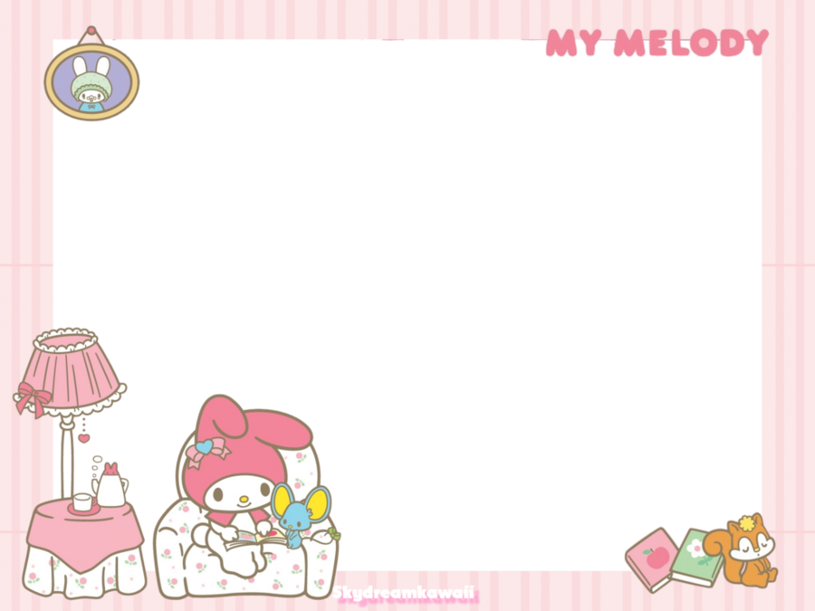 frame kawaii png clipart Borders and Frames My Melody Clip art