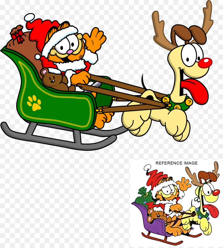 Garfield Christmas.Garfield Christmas Clipart Cartoon Product Christmas