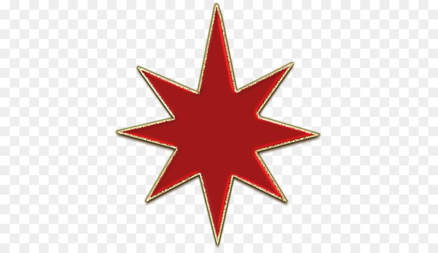 Christmas Clip Art North Star.Christmas Tree Star Clipart Red Star Tree Transparent