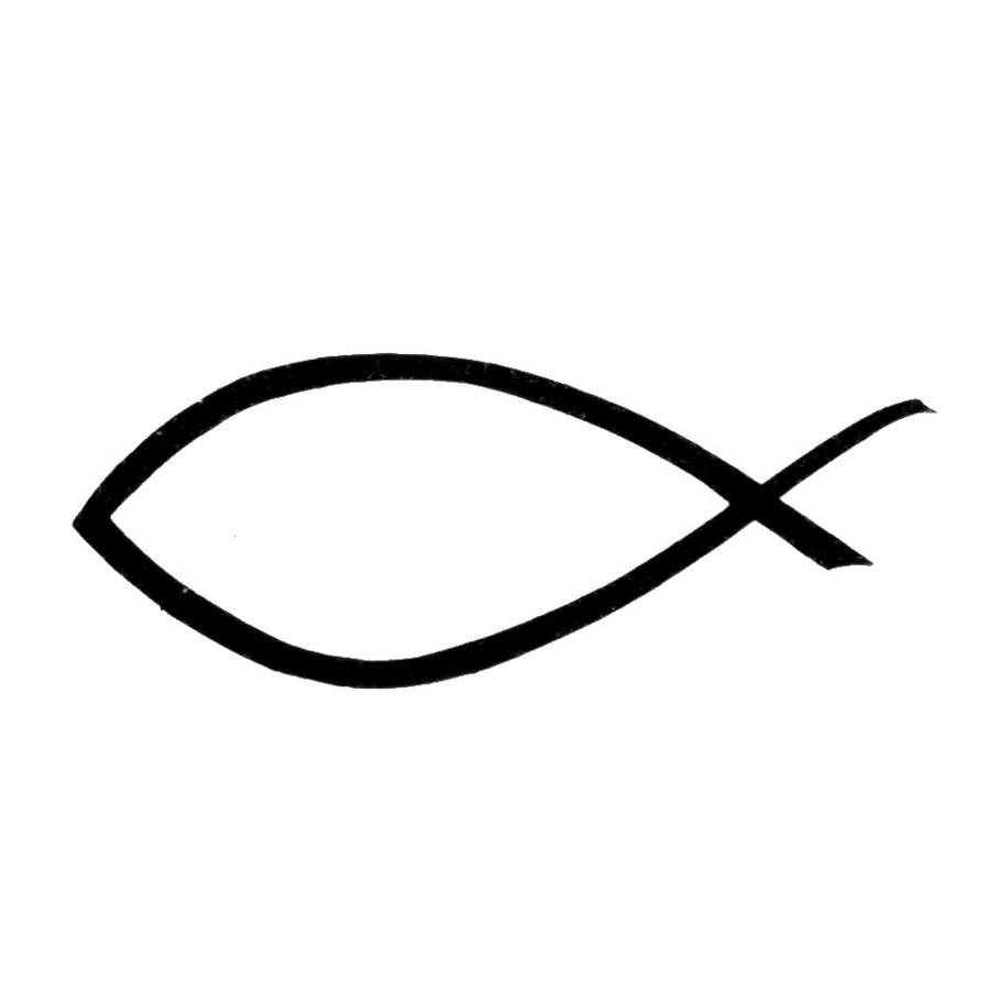 Download Sign Of A Fish Clipart Ichthys Christian Symbolism