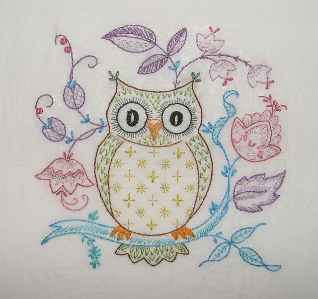 Download patrones bordado mexicano buhos clipart Embroidery Owl Stitch
