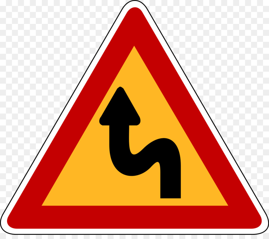 curved road sign clipart Traffic sign Road curve Stock photography