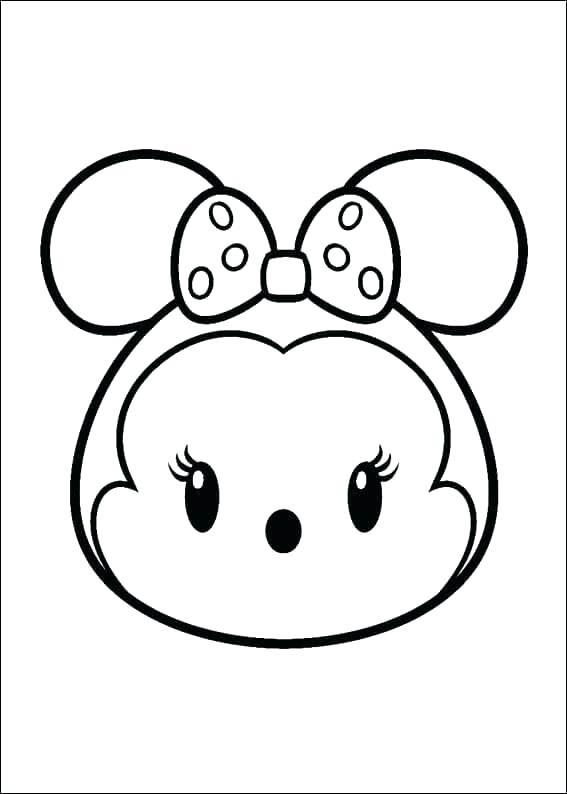 Download dibujos de tsum tsum para colorear clipart Disney Tsum Tsum ...