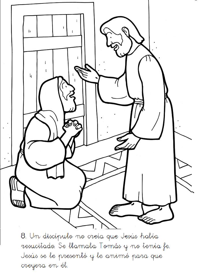 Download jesus y el perdon para colorear clipart Coloring book ...