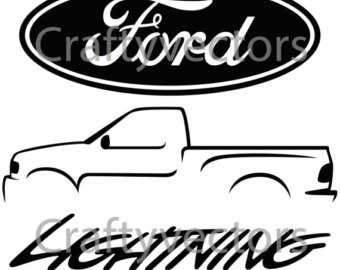 Download ford lightning outline clipart Ford F-Series Ford