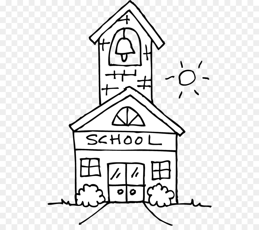 Christmas House Drawing.School Black And White Clipart School House Drawing