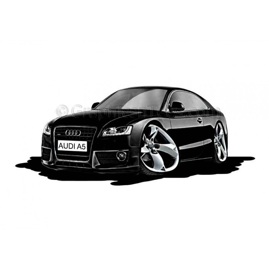 Download Astra Cartoon Clipart Audi A4 A1 Car Technology White Black Rims