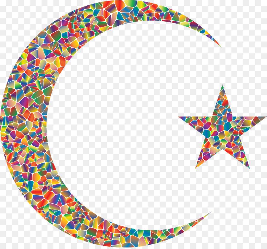 Eid Mubarak Crescent