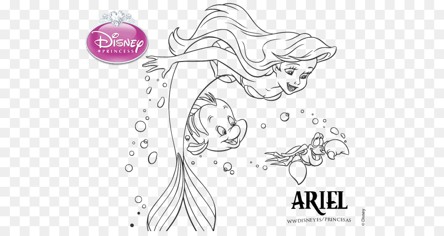 Clipart resolution 600*470 - disney princess clipart Ariel Ursula ...