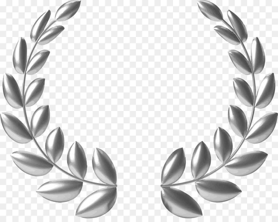 gold wreath clipart Laurel wreath Gold Clip art