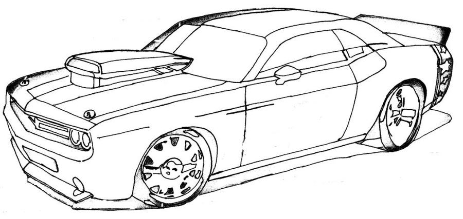 Sport Car Coloring Page Clipart Sports Car Colouring Pages