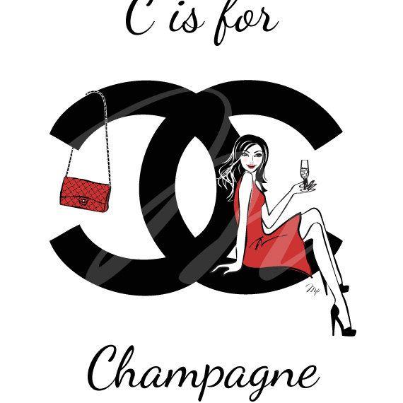 Clipart Resolution 570570 Chanel Obraz Clipart Chanel No 5 Fashion