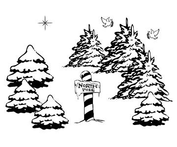 free download santas workshop coloring pages clipart christmas tree santa claus christmas coloring pages it comes with full background with resolution of