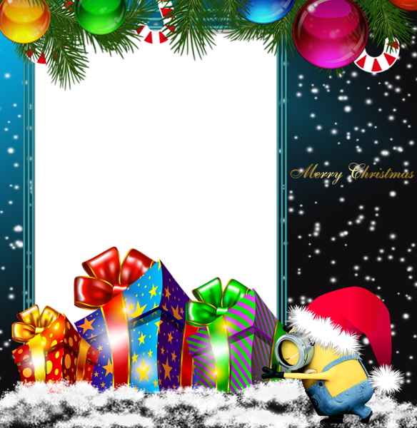 Merry Christmas Tree Clipart Collage Christmas Cartoon Transparent Clip Art