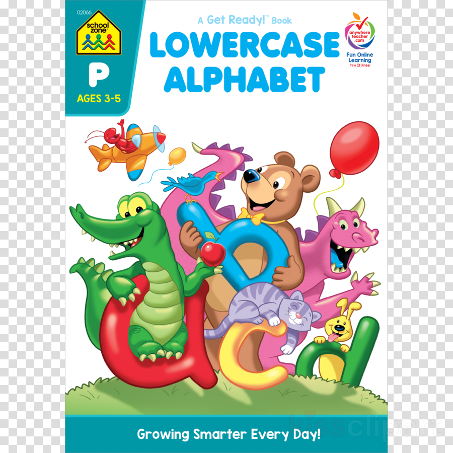 school zone - lowercase alphabet preschool workbooks - 32 pages clipart Lowercase Alphabet Uppercase Alphabet Big Preschool Workbook