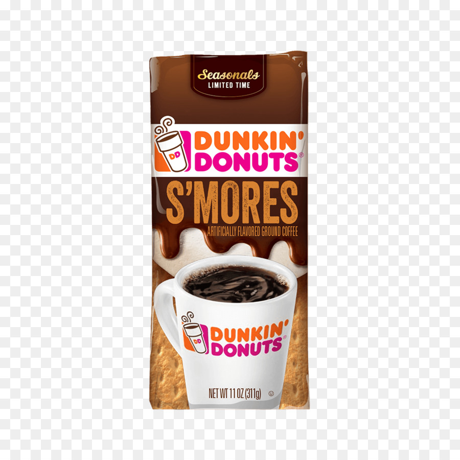 dunkin donuts clipart Donuts Iced coffee