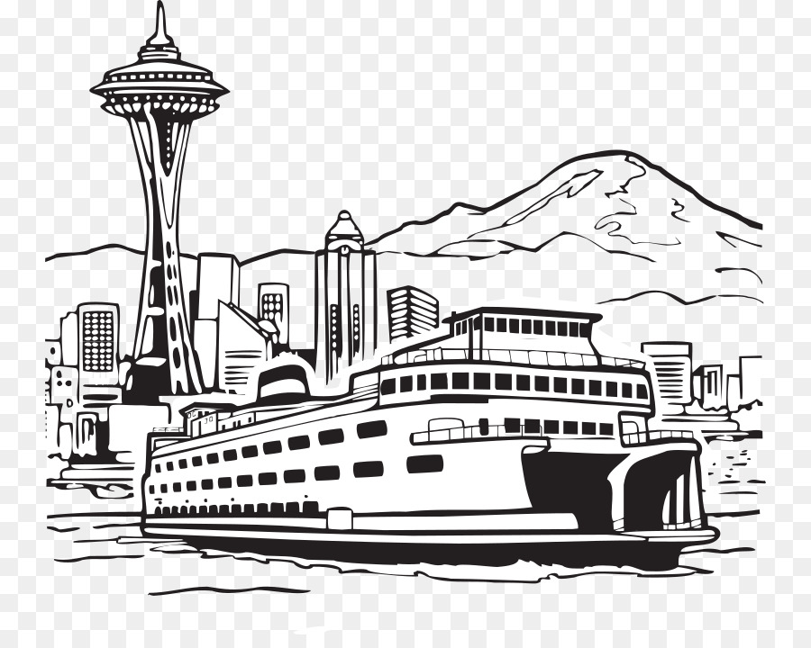 download 3drose llc 8 x 8 x 0 25 inches seattle wa ferry and space