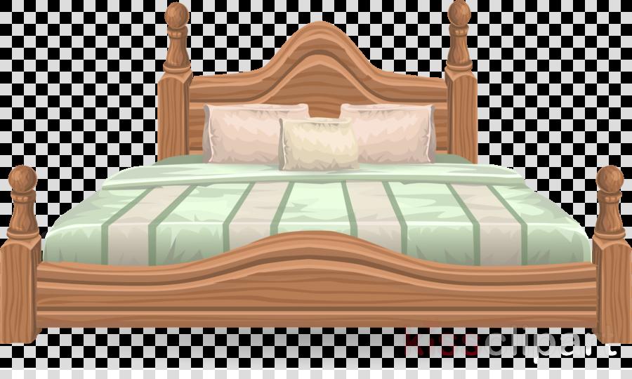 big bed clipart Bedroom Bed frame Clip art