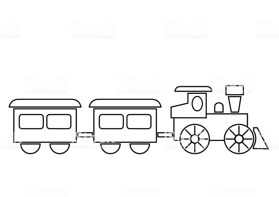 Download tren para colorear clipart Train Coloring book Thomas ...