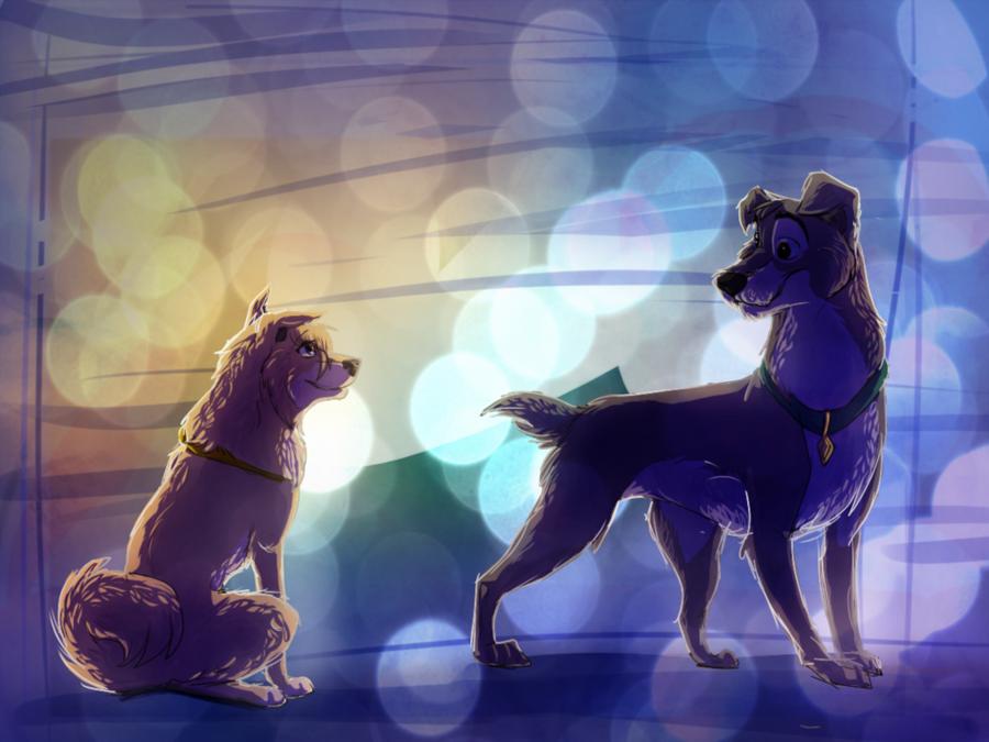 Sky Cartoon Clipart Dog Blue Purple Transparent Clip Art