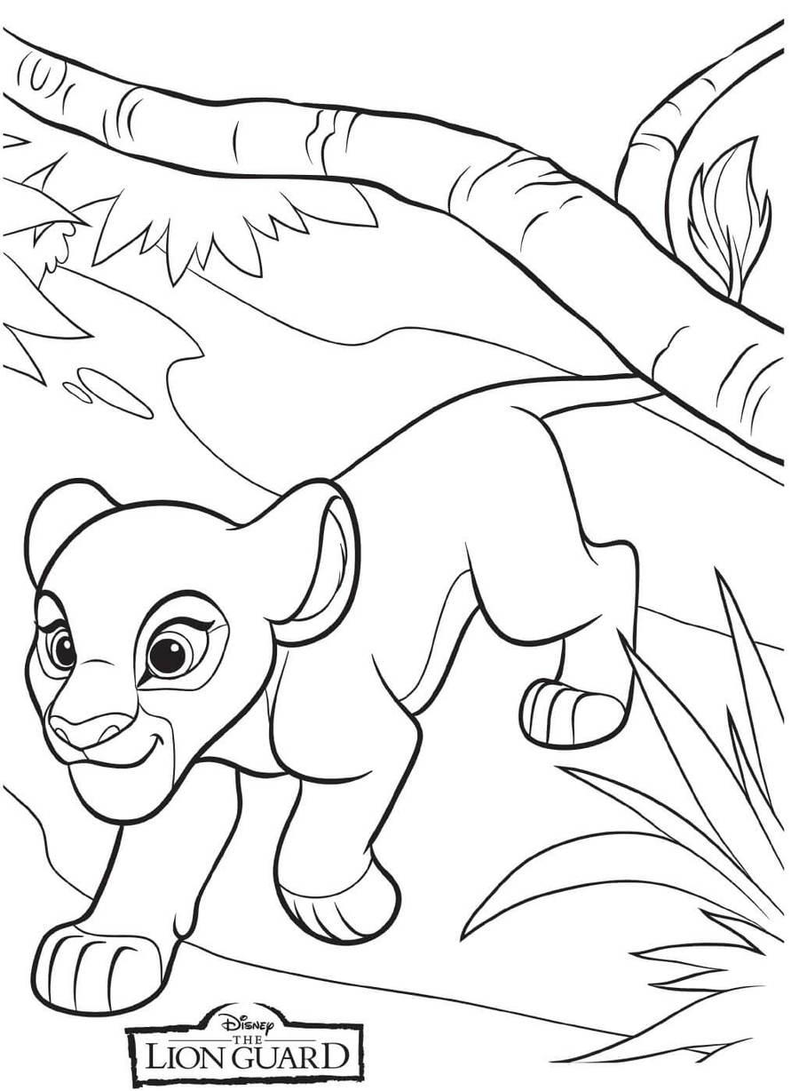 Download Lion Guard Coloring Books Clipart Kion Book