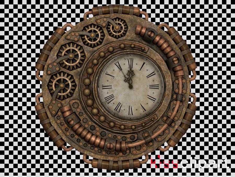 steampunk clock transparent clipart Steampunk Clock Timer