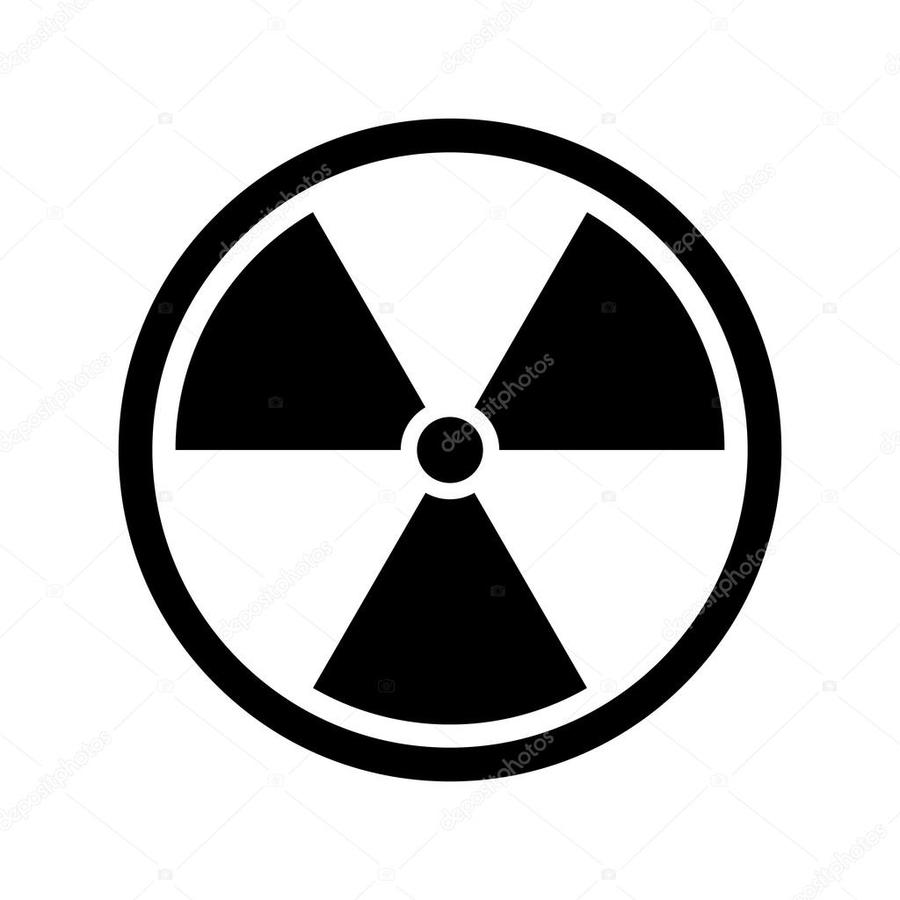 Download Nuclear Symbol Black Background Clipart Stock Photography