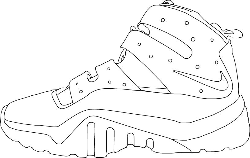 Sports Clipart Force Nike Shoes Templates Download Air 7BgT4wq