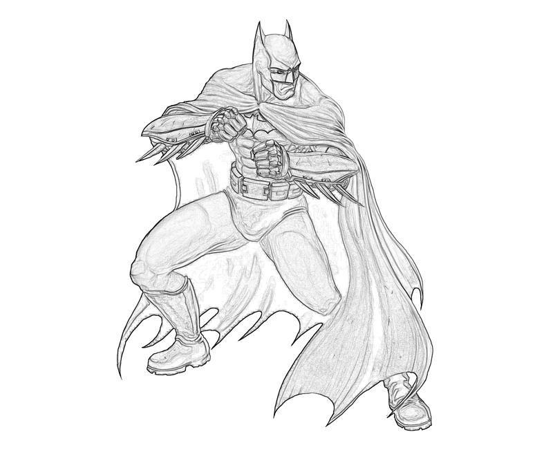 Download batman arkham knight coloring clipart Batman: Arkham City ...