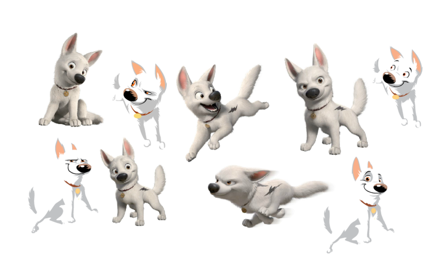 Bolt Dog Clipart Dog Puppy Transparent Clip Art